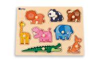 Puzzle Zvířata v džungli