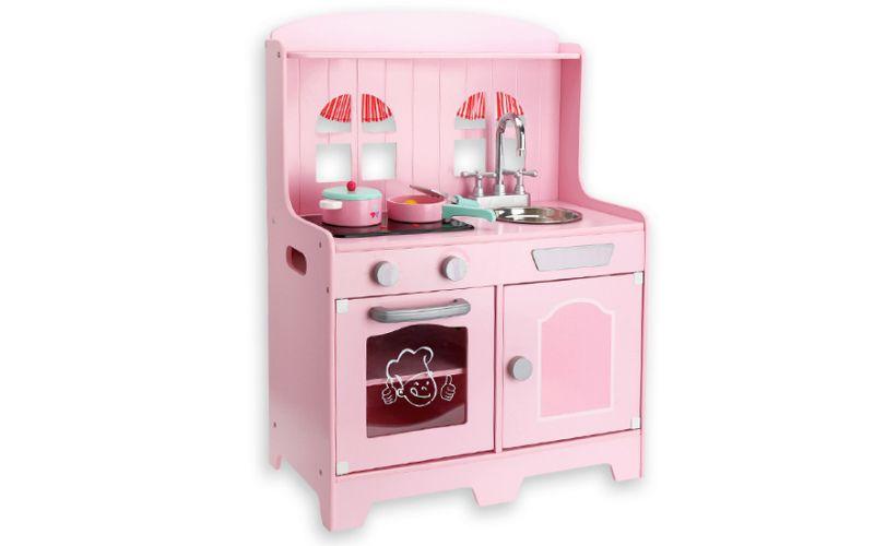 Růžová kuchyňka se zvuky