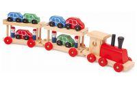 Vlak s auty
