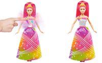 Barbie duhová princezna se světýlky a zvukem