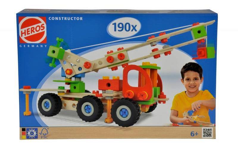 Constructor 190 dílů
