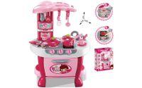 Dětská kuchyňka G21 Malá kuchařka s příslušenstvím růžová