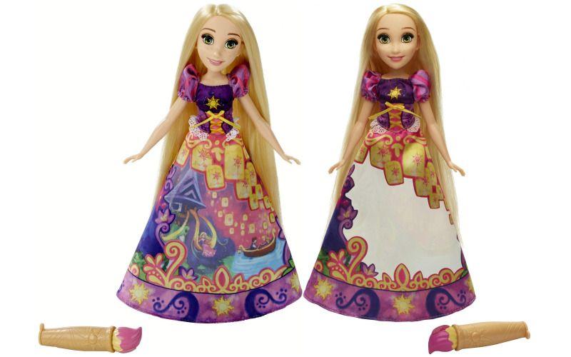 Hasbro Disney Princess Locika s vybarvovací sukní