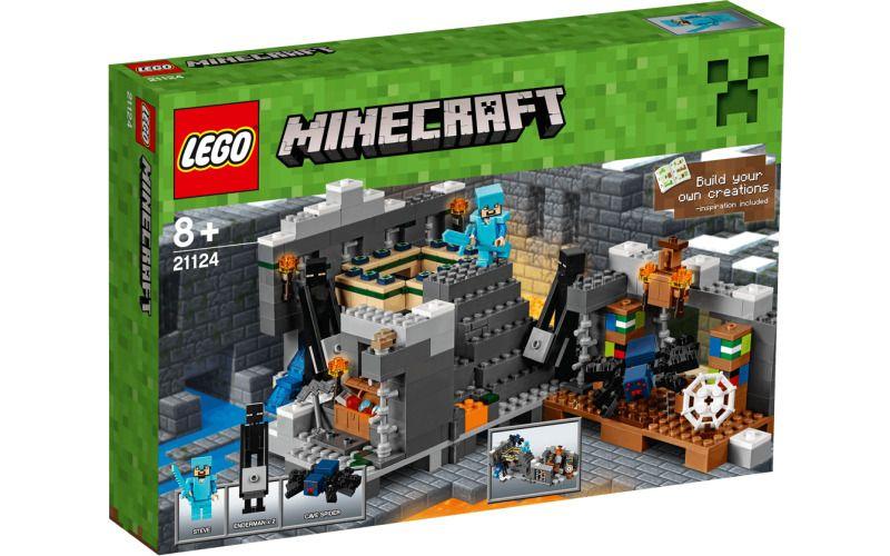 Bojuj s jeskynním pavoukem a s endermeny, získej cenné rudy z truhly a také podzemní oči k aktivaci cílové brány! Užívej si tvořivá dobrodružství Minecraft, ve kterých se představují tvé oblíbené post