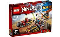 LEGO Ninjago 70600 Honička nindža motorek