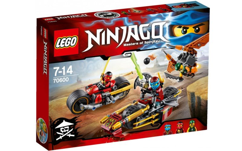 Lego LEGO Ninjago 70600 Honička nindža motorek