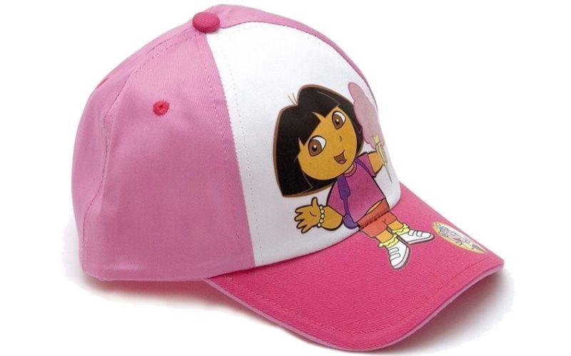 Letní kšiltovka Dora se zmrzlinou