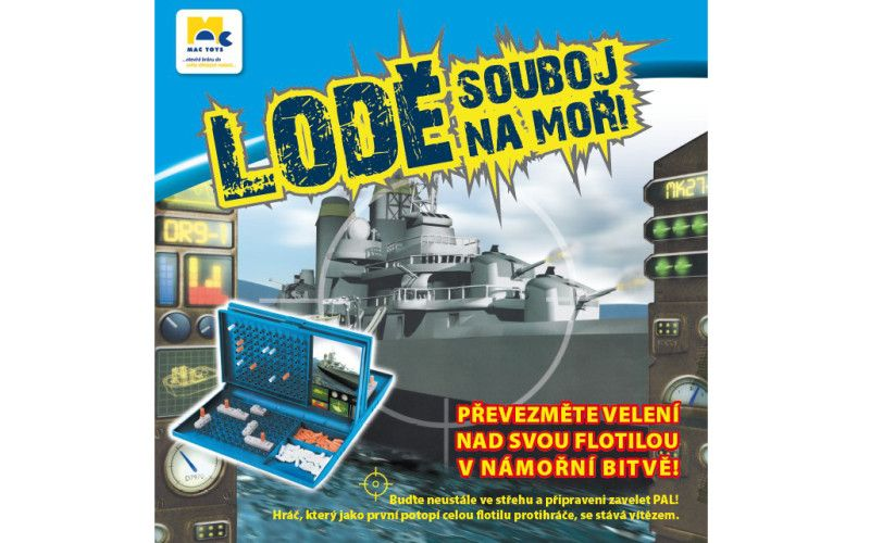 Mac Toys Lodě, souboj na moři