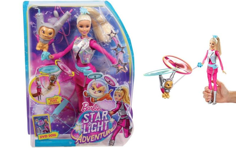 Panenka Barbie Star Light Adventure Ve hvězdách