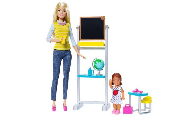 Mattel Panenka Barbie učitelka
