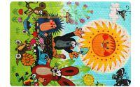Pěnové puzzle Krtek a sluníčko 24 dílků