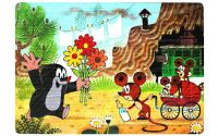Pěnové puzzle Krtek a myška 24 dílků