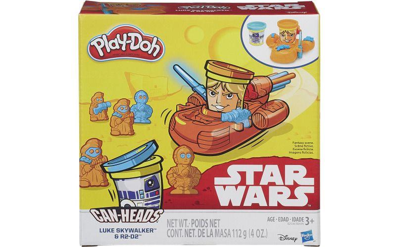 Hasbro Play Doh Star Wars dvojbalení kelímků Luke Skywalker a R2-D2