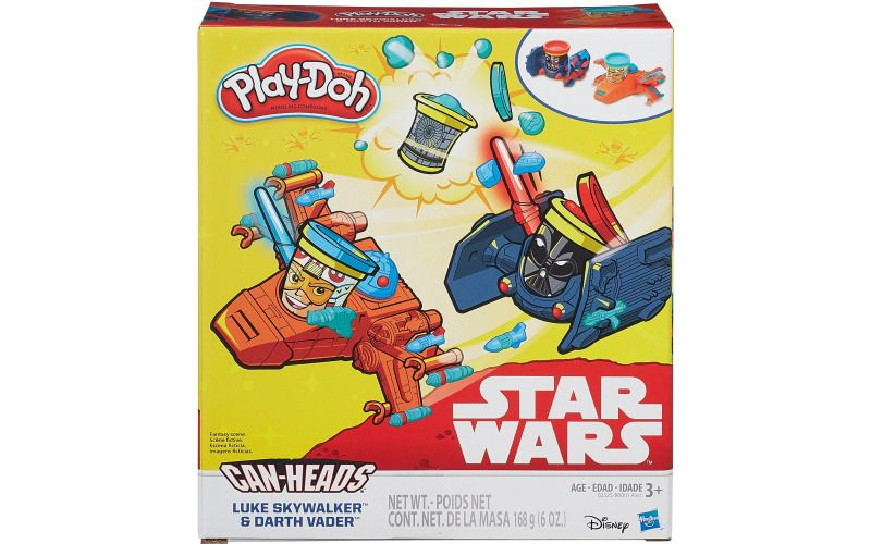 Play Doh Star Wars trojbalení kelímků Luke Skywalker a Darth Wader