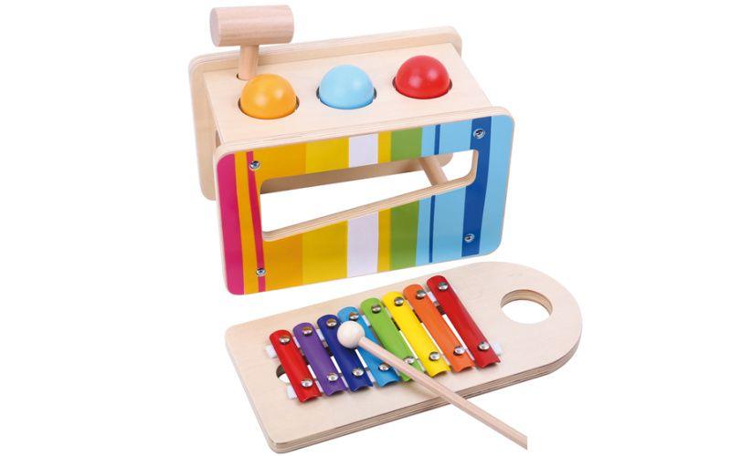 Zatloukačka a xylofon