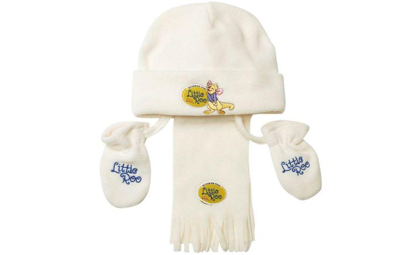 Zimní souprava bílá Little Roo